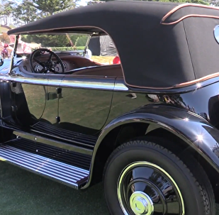 加州圓石灘優雅競賽上的獨特汽車