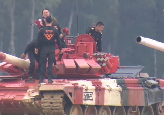 坦克兩項:俄羅斯奪冠並創造新記錄