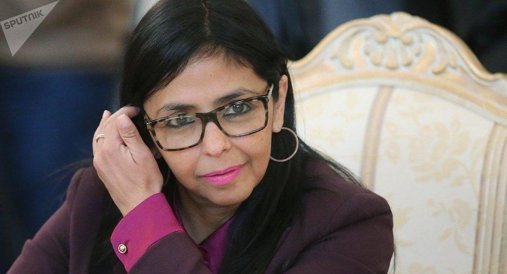 委內瑞拉副總統羅德里格斯表示,她帶來了委總統馬杜羅致俄總統普京的信