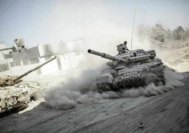 叙军掐断胜利阵线武装分子的补给线