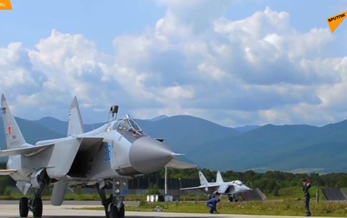 实拍米格-31战机近太空飞行