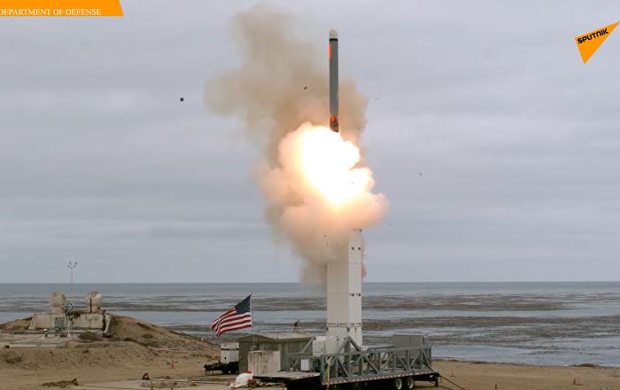 美国退出《中导条约》后测试陆基非核弹头巡航导弹