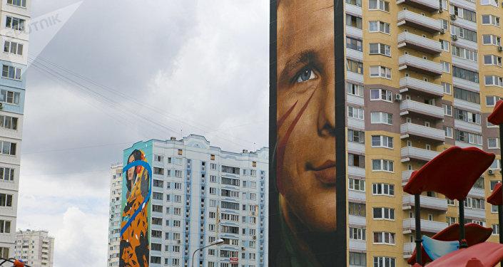 莫斯科市的睡区摇身一变,成了艺术区