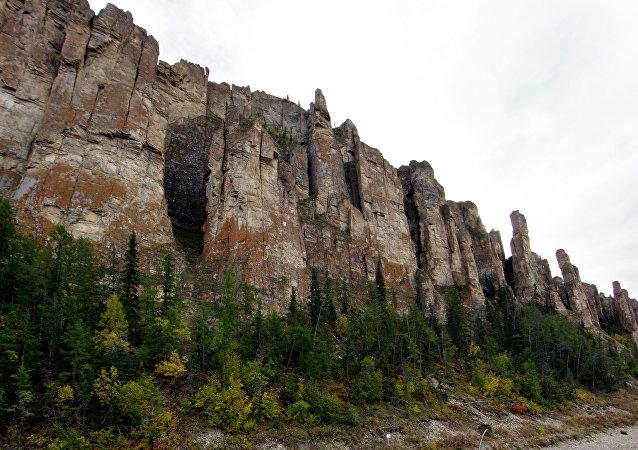 薩哈共和國勒拿河柱狀岩自然公園