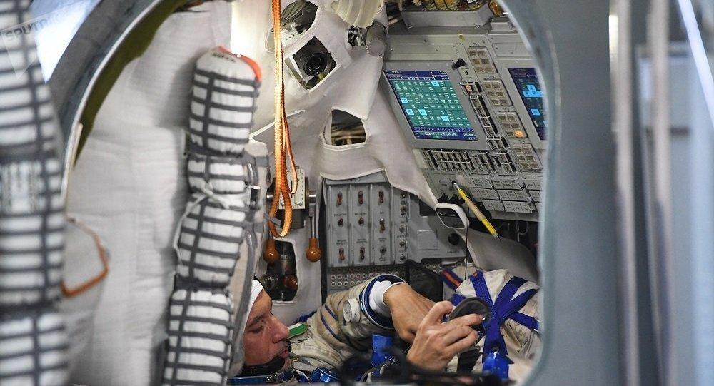 宇航員培訓(資料圖片)