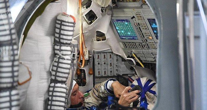 宇航员培训(资料图片)