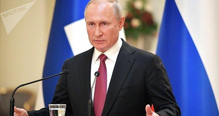 普京:美国退出《中导条约》是为了试验新的导弹