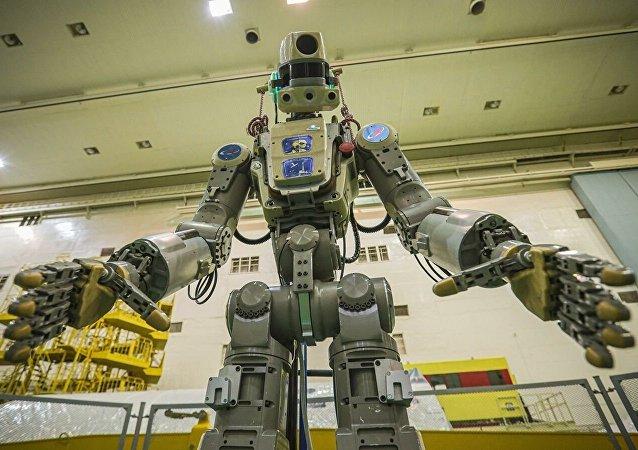 俄機器人「費奧多爾」