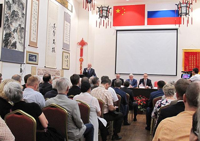 俄中友協新主席選舉