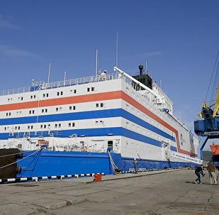 全球首個浮動核電站機組將被運往楚科奇