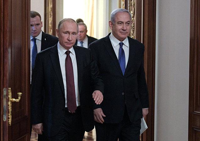 普京与内塔尼亚胡通电话讨论两国叙利亚问题上的互动