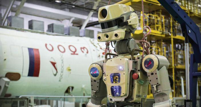 俄首款機器人航天員或於2021年進入外太空