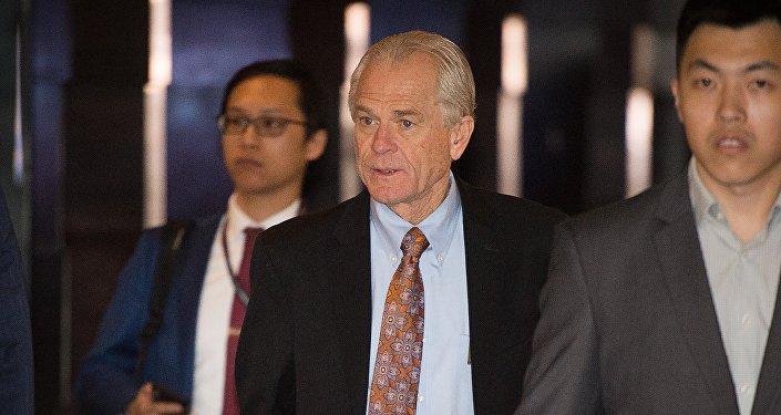 美國白宮貿易顧問彼得·納瓦羅(Peter Navarro)