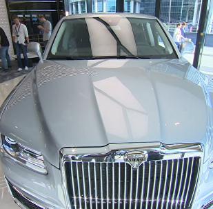 Aurus汽車展廳在「莫斯科城」商務中心開放