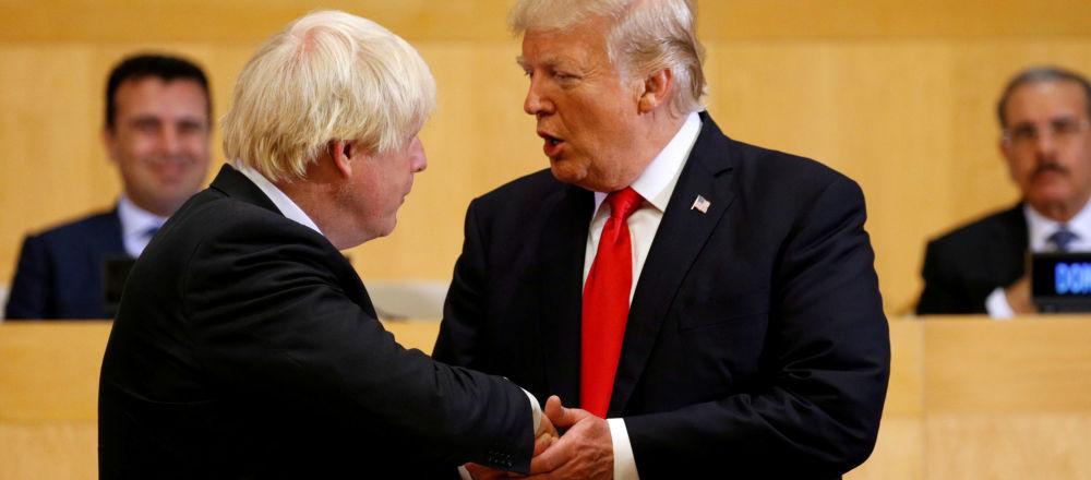约翰逊称将劝说特朗普停止贸易战