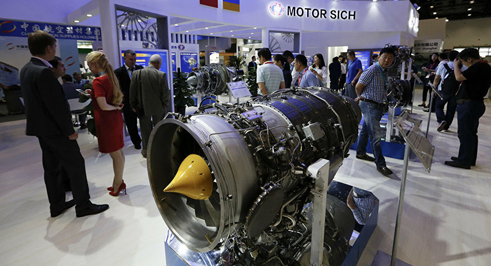 美国欲阻止中方与乌克兰航空发动机制造商的交易