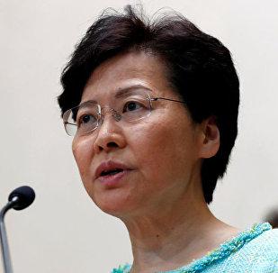 香港特別行政區行政長官林鄭月娥