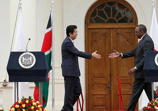 日本無法在非洲挑戰中國