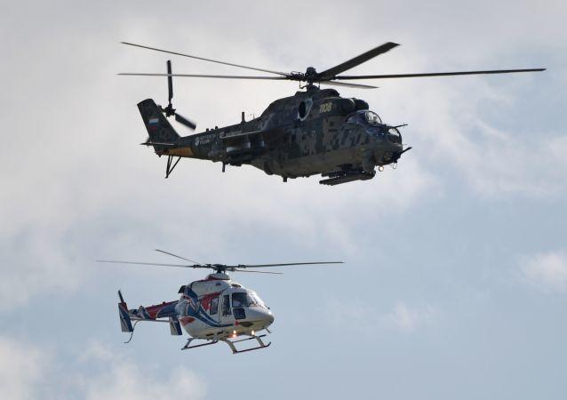 """俄哈将从2020年起在阿拉木图开始组装""""米""""直升机"""