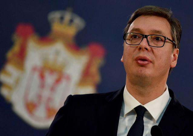 塞尔维亚总统亚历山大·武契奇