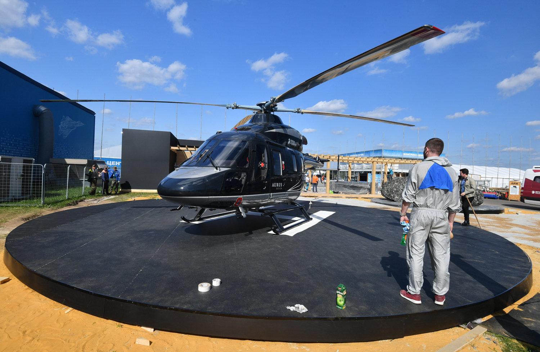 """俄罗斯轻型直升机""""Ansat""""的升级版"""