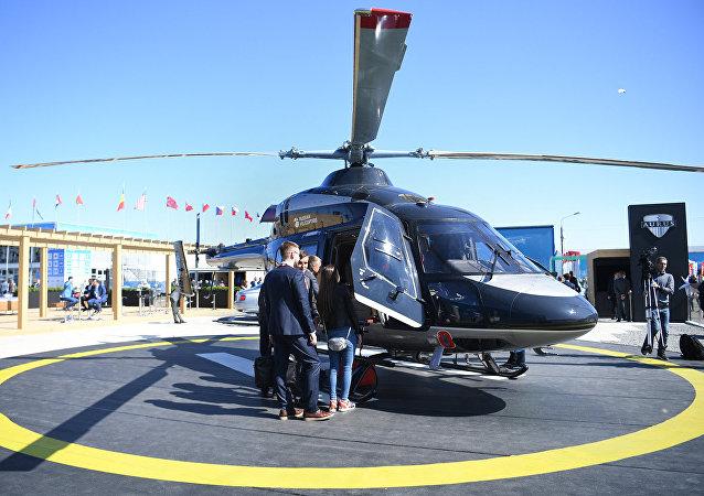 """""""安萨特""""(Ansat)直升机"""