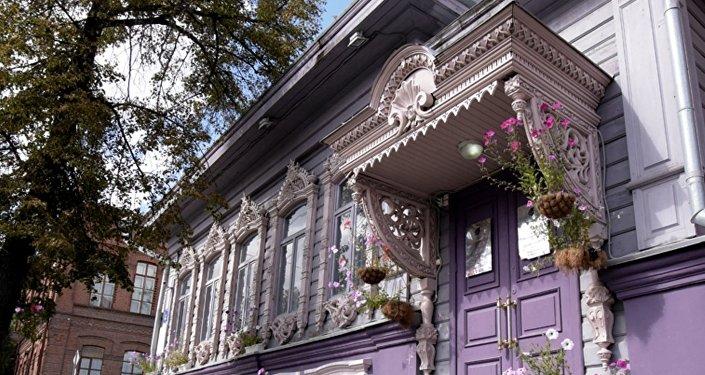 秋明市奇拉洛夫商家故居-19世纪木质建筑遗迹之一
