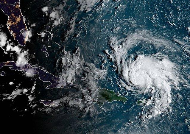 「多里安」颶風