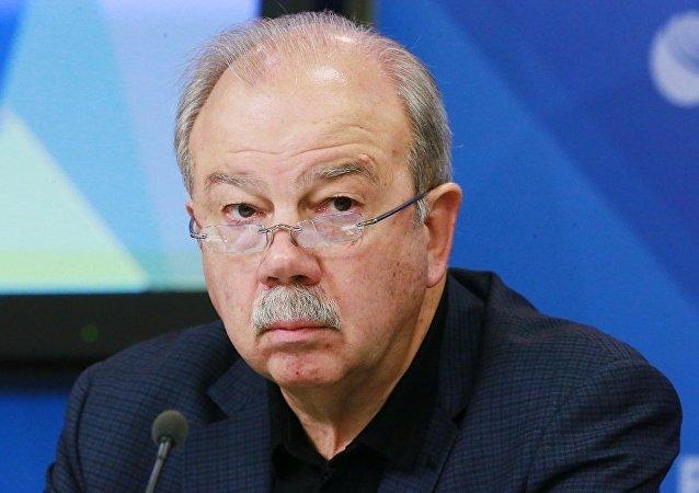 俄罗斯战略评估研究所所长谢尔盖·奥兹诺比谢夫(资料图片)