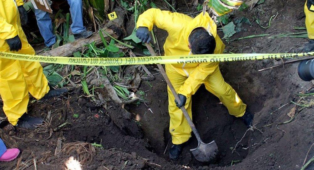 墨西哥政府發現3000多處人類遺體秘密埋葬處