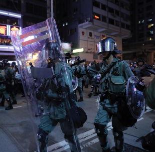 香港警方:過去的週末共有159人被捕 6月至今共拘捕1117人