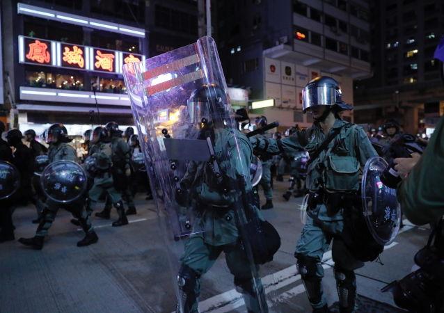 香港警方:过去的周末共有159人被捕 6月至今共拘捕1117人