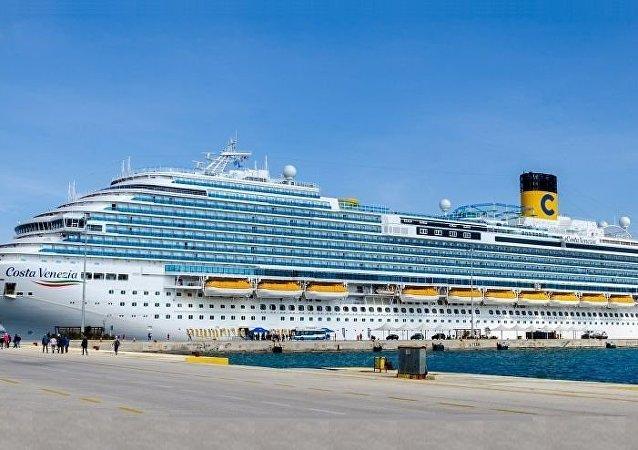 """""""歌诗达威尼斯""""(Costa Venezia)号邮轮"""