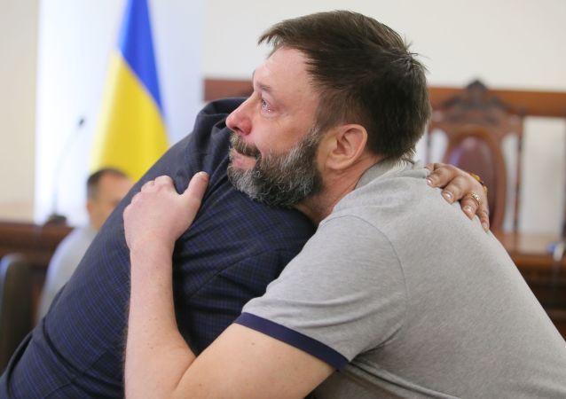 """""""俄新社乌克兰""""网站负责人维辛斯基"""