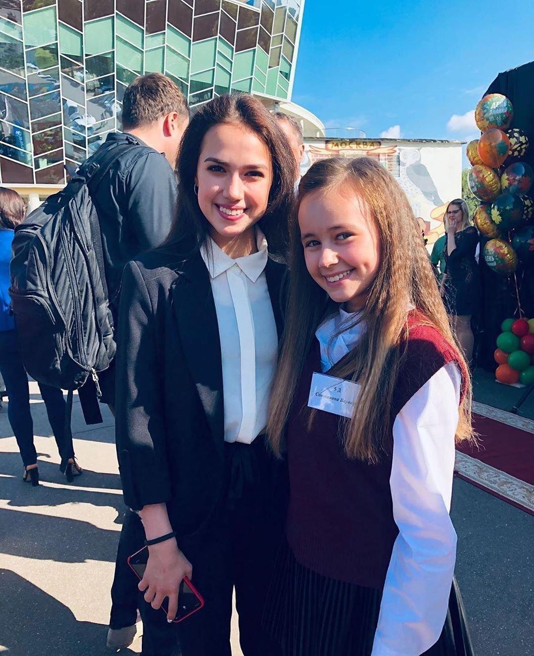 奧運會冠軍阿麗娜·扎基托娃上了11年紀