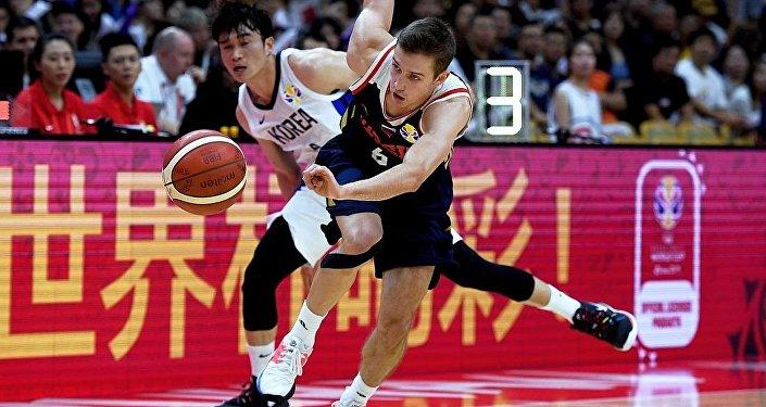 俄羅斯隊籃球世界杯輕取韓國隊斬獲兩連勝
