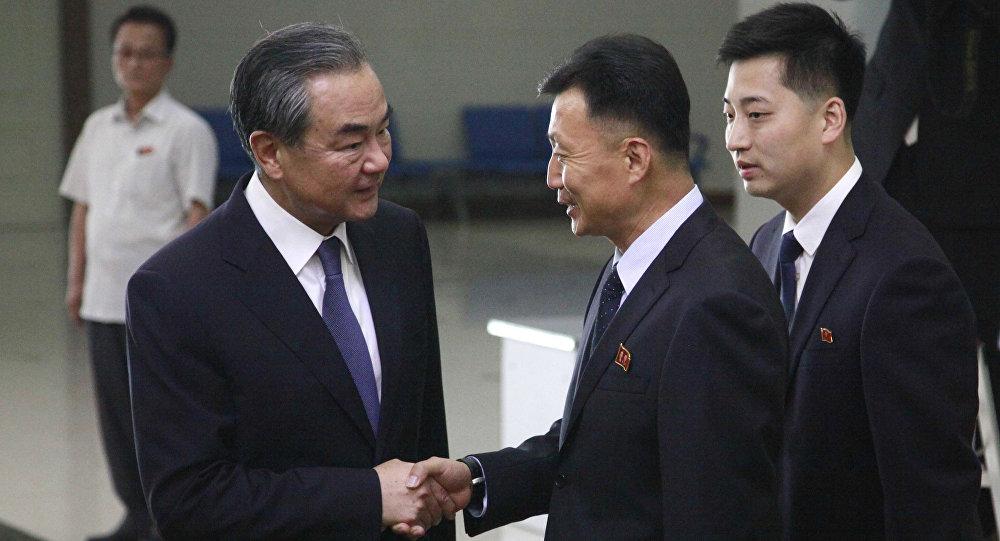 中国与朝鲜加强东北亚战略协调