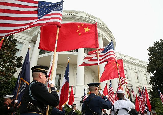 美国是世界动荡不安的制造者 确实无法同中国相提并论
