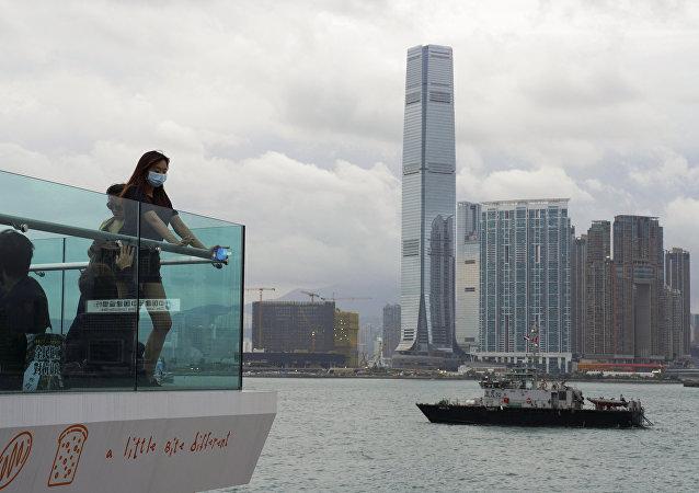 中国外交部敦促美方立即停止推动审议有关涉港法案