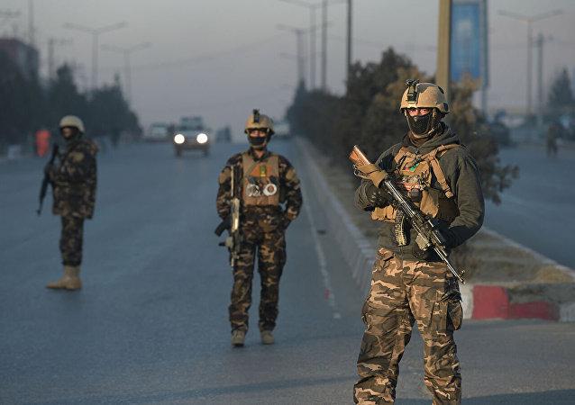 阿富汗军人