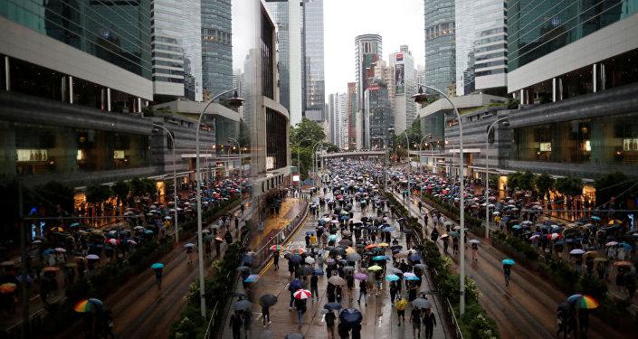 香港抗議活動