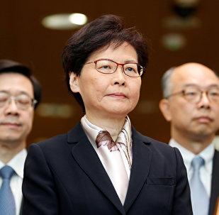香港特區行政長官林鄭月娥