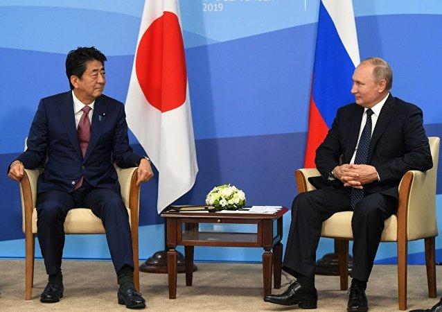 普京:俄羅斯歡迎與日本對話 這有助於雙邊關係發展