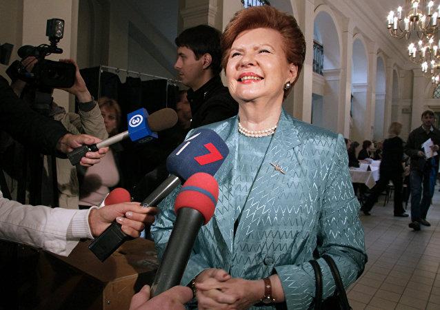 拉脱维亚前总统維拉·薇契-斐柏嘉