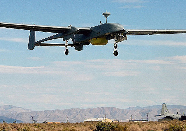 以色列一軍用無人機墜入黎巴嫩境內