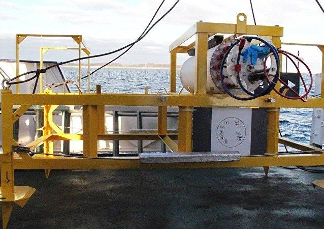 德国水下观测站从波罗的海水底消失