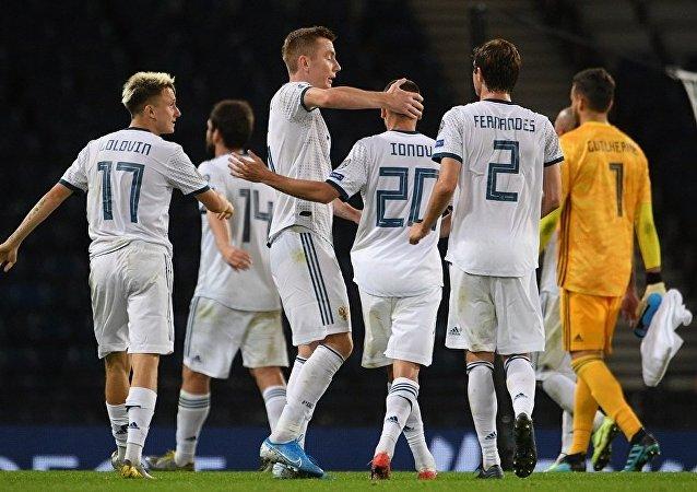 戰勝蘇格蘭隊將提升俄羅斯國家足球隊在歐錦賽預選賽中的士氣