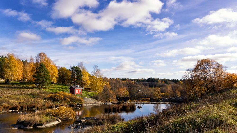 芬兰的自然景观
