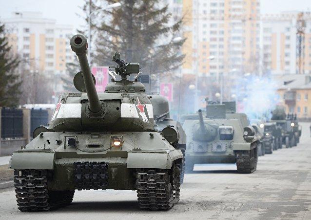 蘇聯IS-2坦克