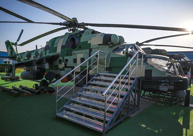 米-24P-1M直升机